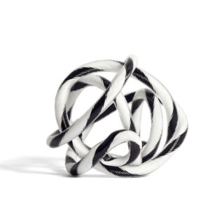 Knot - Black & White - Small