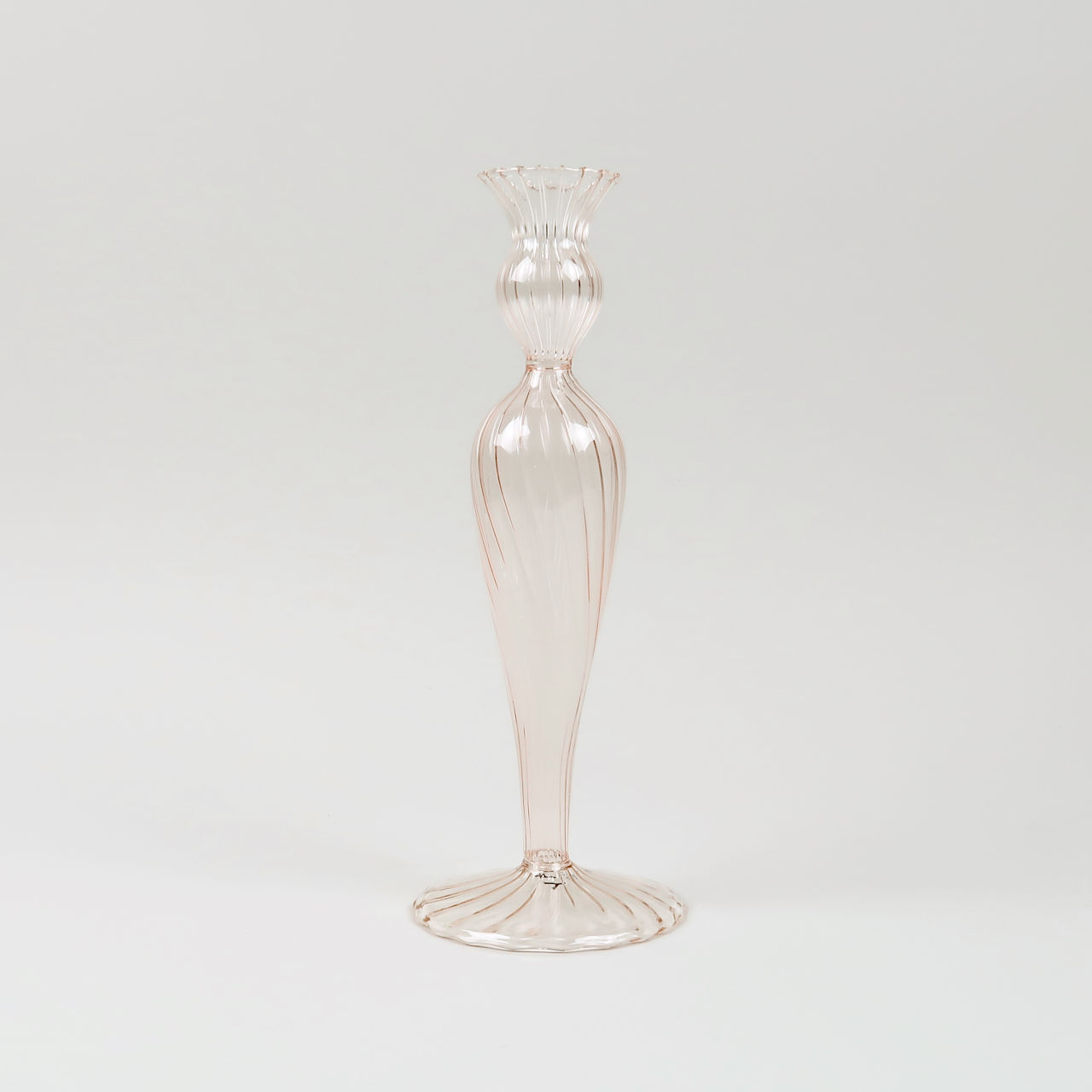 Venezian Glass Candle Holder - 2