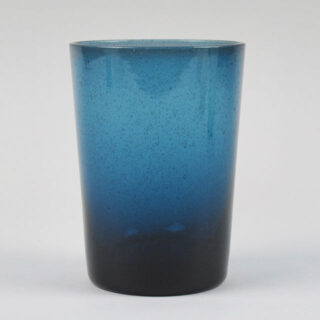 Boxed Set of 6 Recycled Glass Tumblers - Mineral Blue