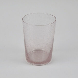 Boxed Set of 6 Recycled Glass Tumblers - Old Rose