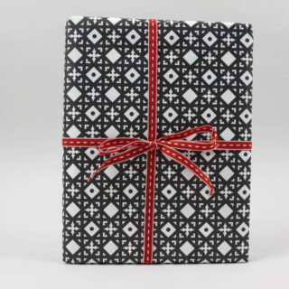 Black Bough 'Tudor' Gift Wrap