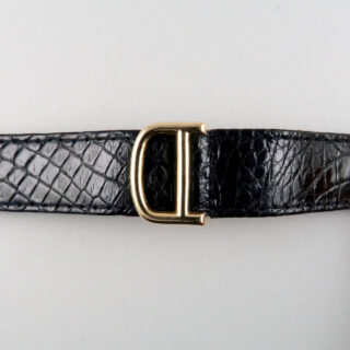 Cartier Vendôme hallmarked 1974 | 18ct gold automatic vintage wristwatch with gold deployant clasp