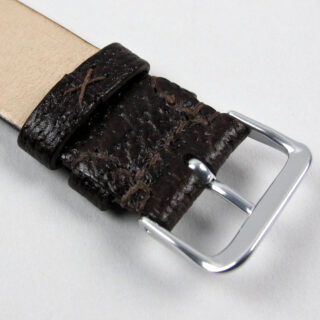 Christopher Clarke for Black Bough handmade wild boar watch strap