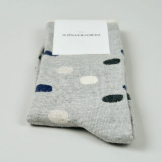 Men's Socks - Original Dots - Light Grey Melange/Navy Melange/Charcoal Melange