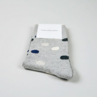 Women's Socks - Original Dots - Light Grey Melange/Navy Melange/Charcoal Melange