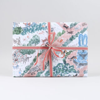 Dogs in the Park Gift Wrap by Emily Sutton