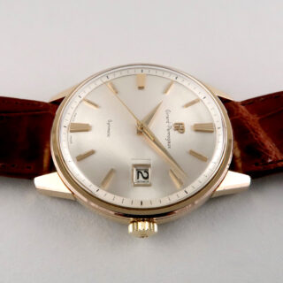 Girard-Perregaux Gyromatic gold capped and steel vintage wristwatch, circa 1968