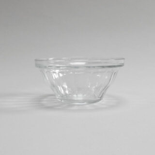 Glass bowls by Duralex