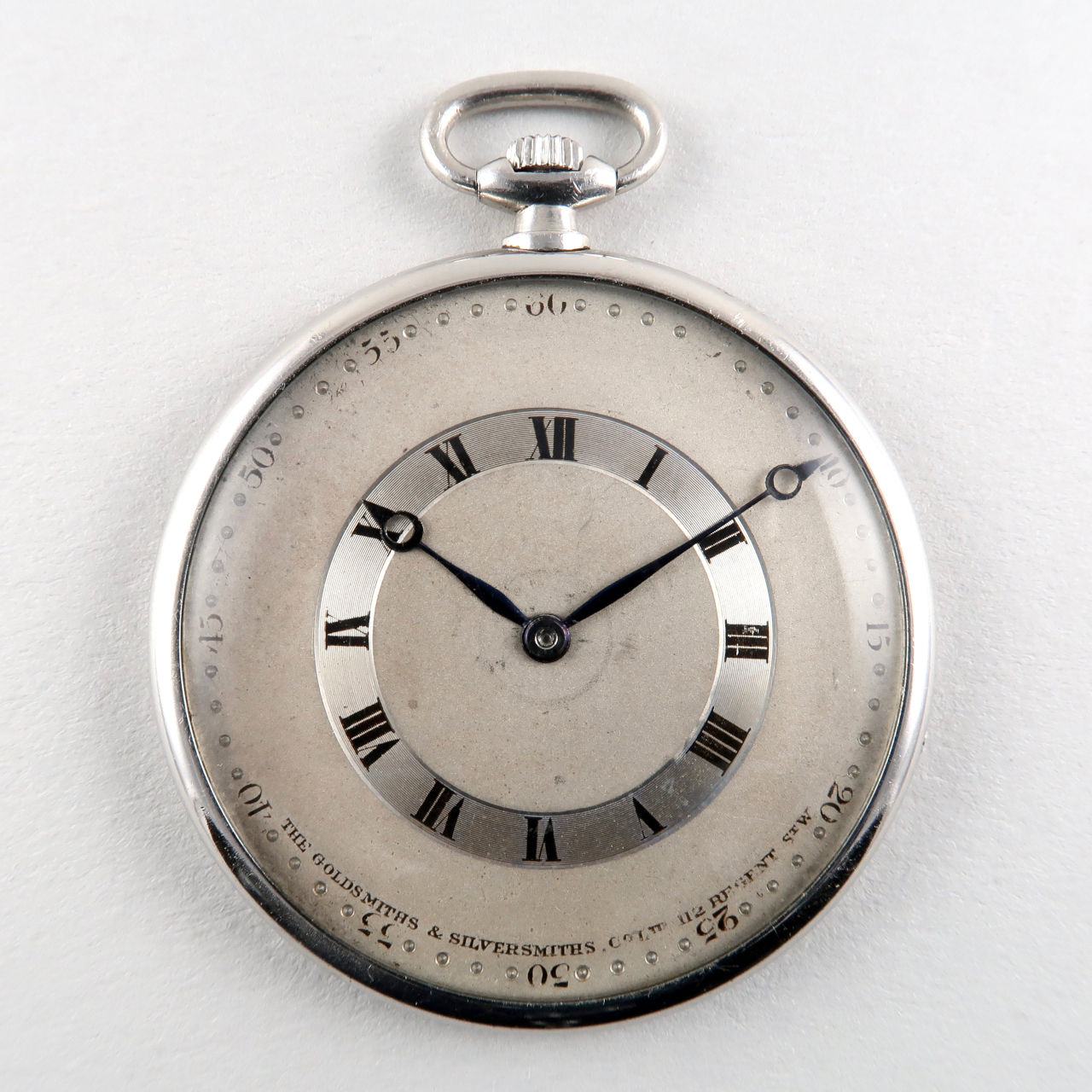 Goldsmiths & Silversmiths Co. circa 1920 | platinum vintage dress watch