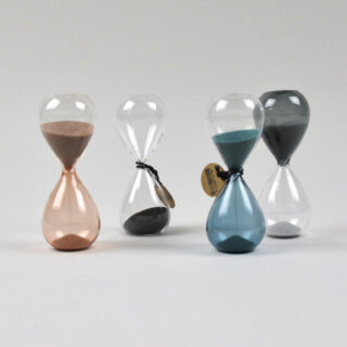 Glass sand timer by HAY - Small