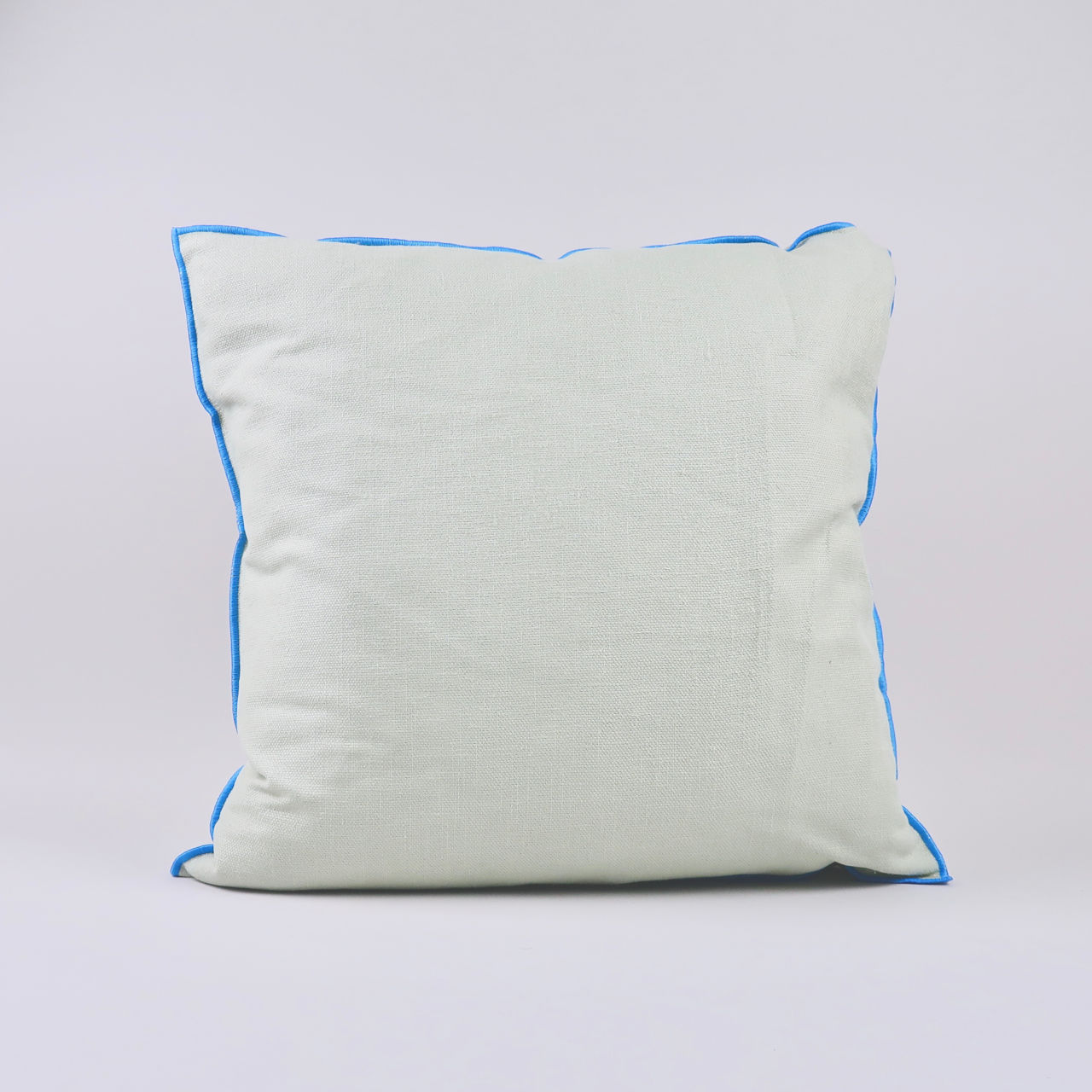 Outline Cushion - Grey Blue