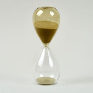 Glass sand timer by HAY - Medium
