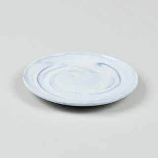 Twist Cup & Saucer - Blue - Medium