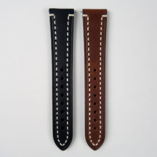 Hirsch Liberty saddle leather watch strap