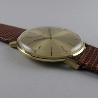 Gold International Watch Company Ref. 2500 vintage wristwatch, circa 1970