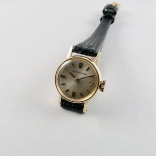 Jaeger-LeCoultre Ref.1655 18ct gold wristwatch, hallmarked 1965
