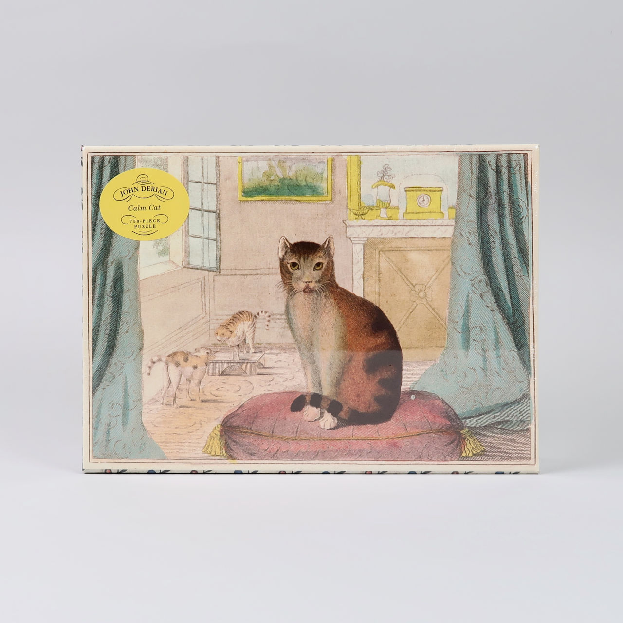Calm Cat - John Derian - 750 piece jigsaw puzzle