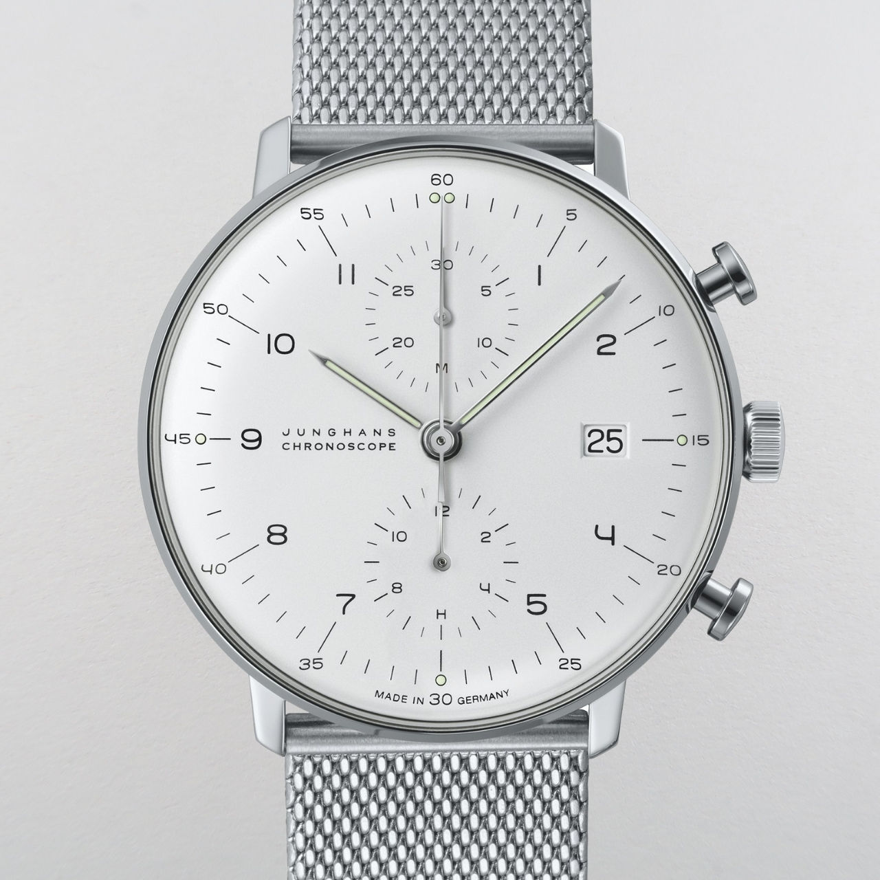 Junghans Max Bill Chronoscope Ref. 027/4003.48