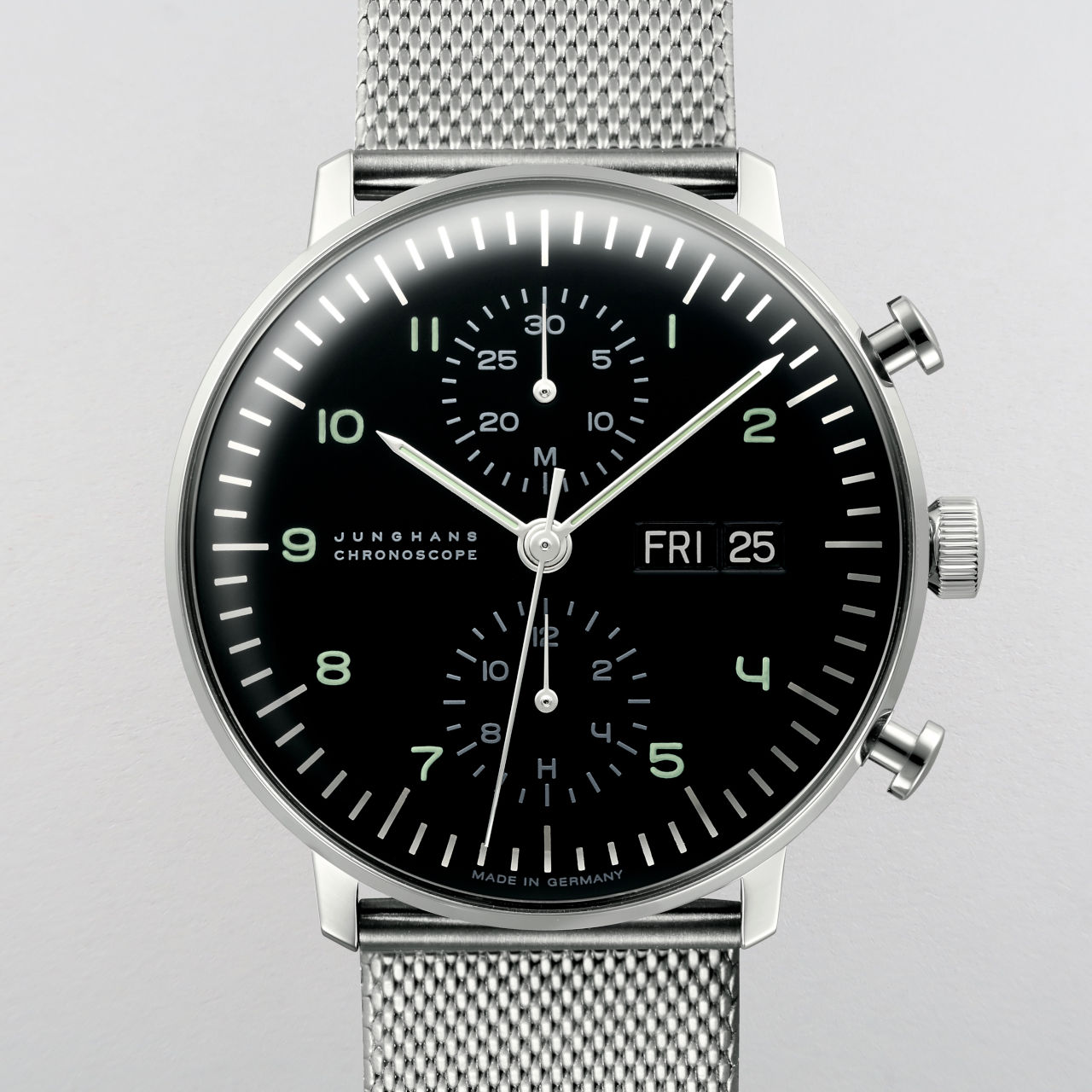 Junghans Max Bill Chronoscope Ref. 027/4500.49