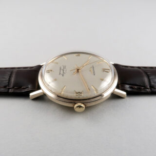 Longines Flagship Ref. 3403 9ct gold vintage wristwatch, circa 1962