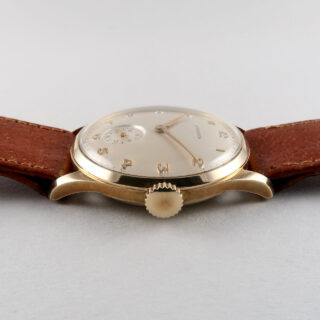 Longines Ref. 4858 invoiced 1949 | 14ct gold manual vintage wristwatch