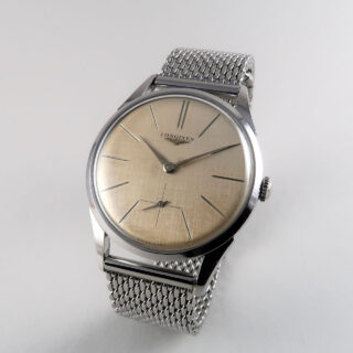 Longines Ref. 7111 -1 invoiced 6 May 1960 | steel manual vintage wristwatch
