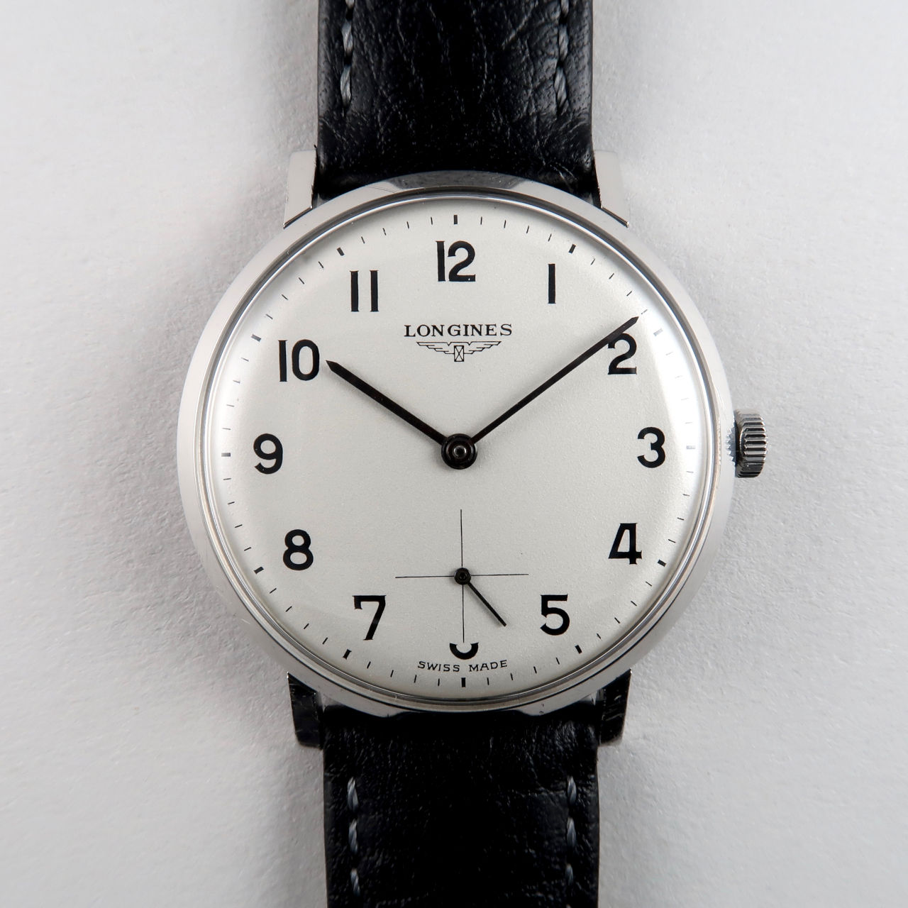 Longines Ref. 7855 -1 invoiced 1968 | steel manual vintage wristwatch