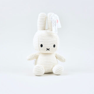 Corduroy White Miffy - Medium