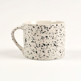 Ama Splatter Mugs - Set of 2 - Short