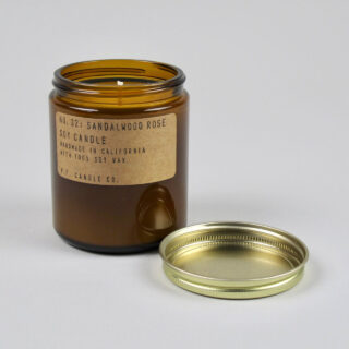 Sandalwood Rose Scented Candle
