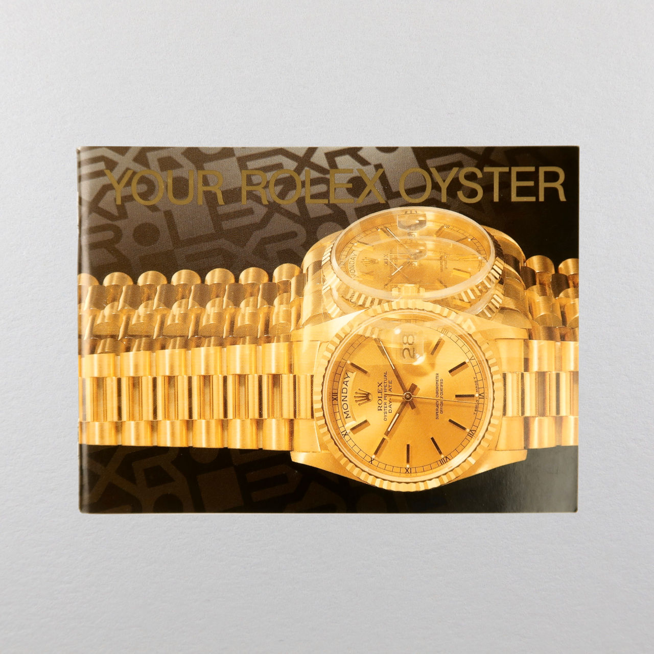 Rolex Oyster booklet