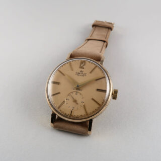 Smiths De Luxe Ref. A.518 hallmarked 1960 | 9ct gold manual vintage wristwatch