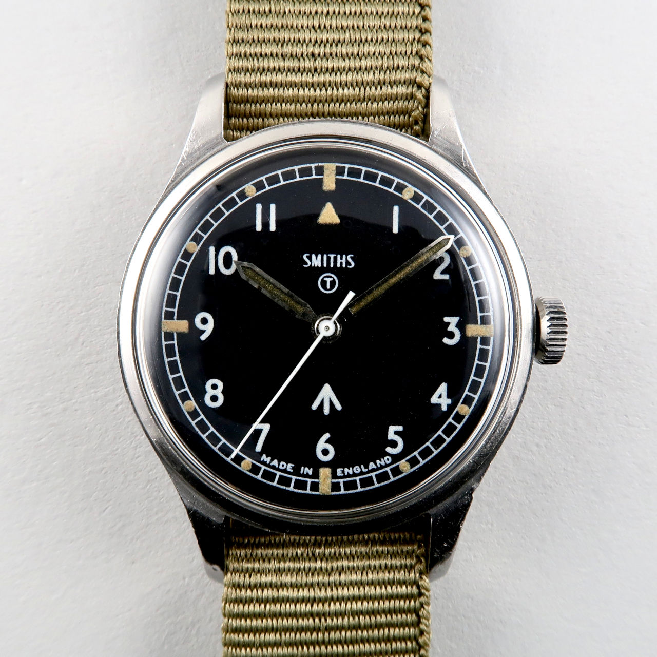 Smiths W10 military dated 1968 | steel manual vintage wristwatch with hack feature
