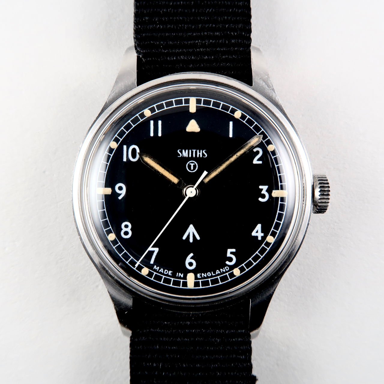 Smiths W10 military dated 1969 | steel manual vintage wristwatch with hack feature