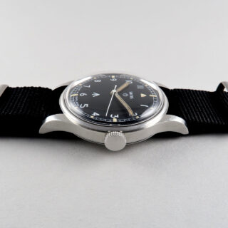 Smiths W10 military dated 1969   steel manual vintage wristwatch with hack feature