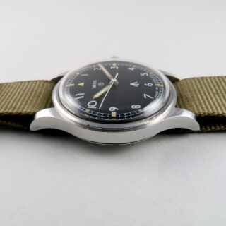 Smiths W10 military steel vintage wristwatch, 1970