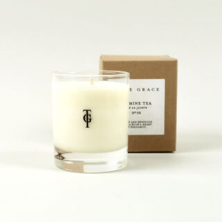 Small Scented Candle by True Grace - Jasmine Tea