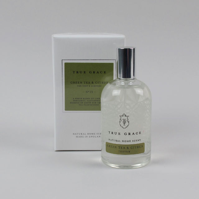 Scented Room Spray by True Grace - Green Tea & Citrus