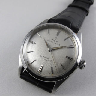 Tudor/ Rolex Oyster Prince Ref. 7965 steel vintage wristwatch, dated 1963