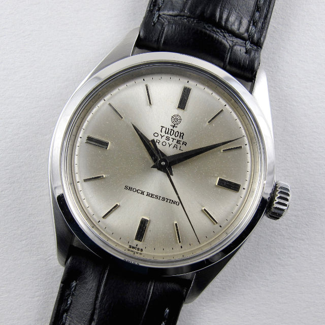 Tudor / Rolex Oyster Royal Ref. 7934 vintage wristwatch, dated 1963