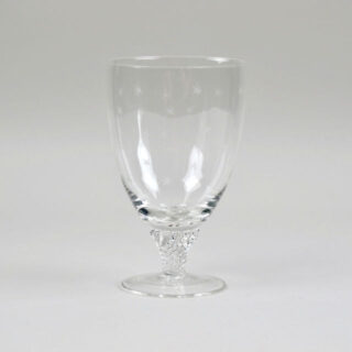 Bistro Wine Glass with Etched Stars