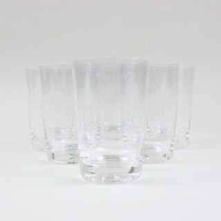 Star Etched Glass Tumbler - Box of 6
